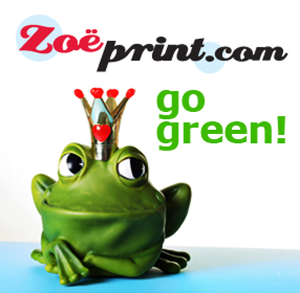 Cheap Printing - It's easy being green!